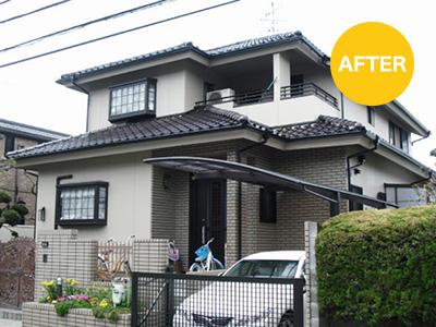 屋根塗装工事例